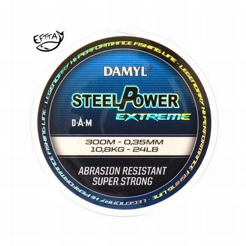 Damyl Steelpower Extreme 300 meter 0,35 mm