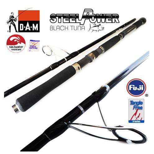 DAM Steelpower Black Tuna 240