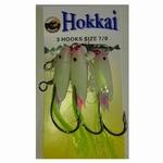 M.M. Hokkai Trace 3 x 7.0 haak chartreuse